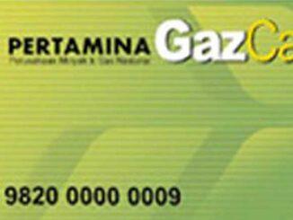 Pertamina Gaz Card