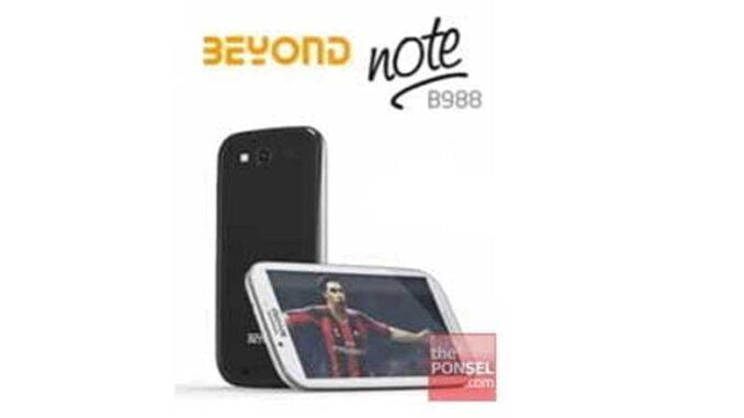 Beyond Note II B988