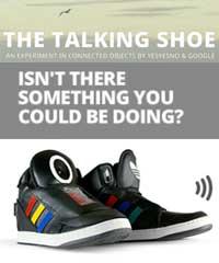 Google-talking-shoe