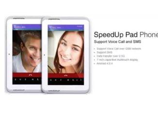 SpeedUp Pad Phone TB-721
