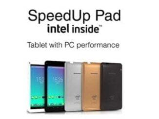 SpeedUp Pad Intel Inside