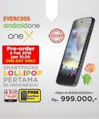Pre-Order-Evercoss-Android-One