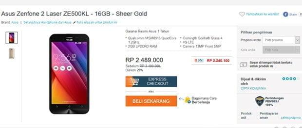 Harga-Asus-Zenfone-2-Laser-di-Indonesia