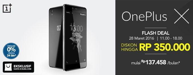 OnePlus-X-Flash-Deal-Blibli.com