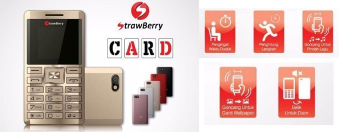 Strawberry-S8-Card-phone