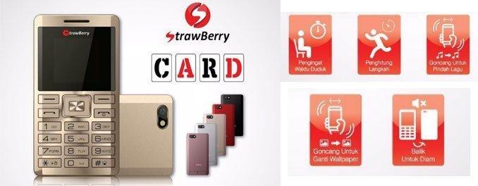 Strawberry-S8-Card-phone