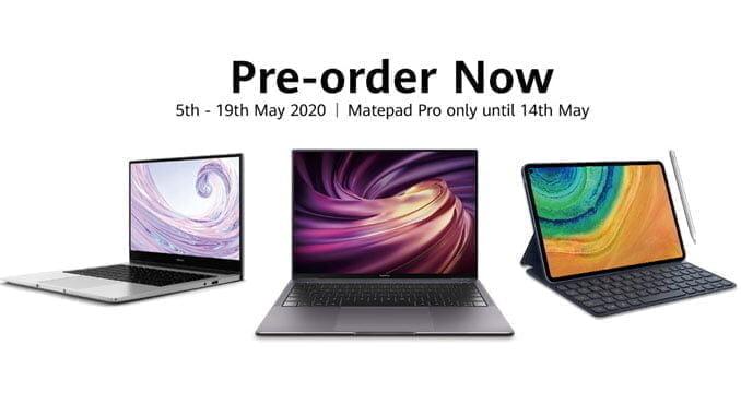 Pre Order Huawei