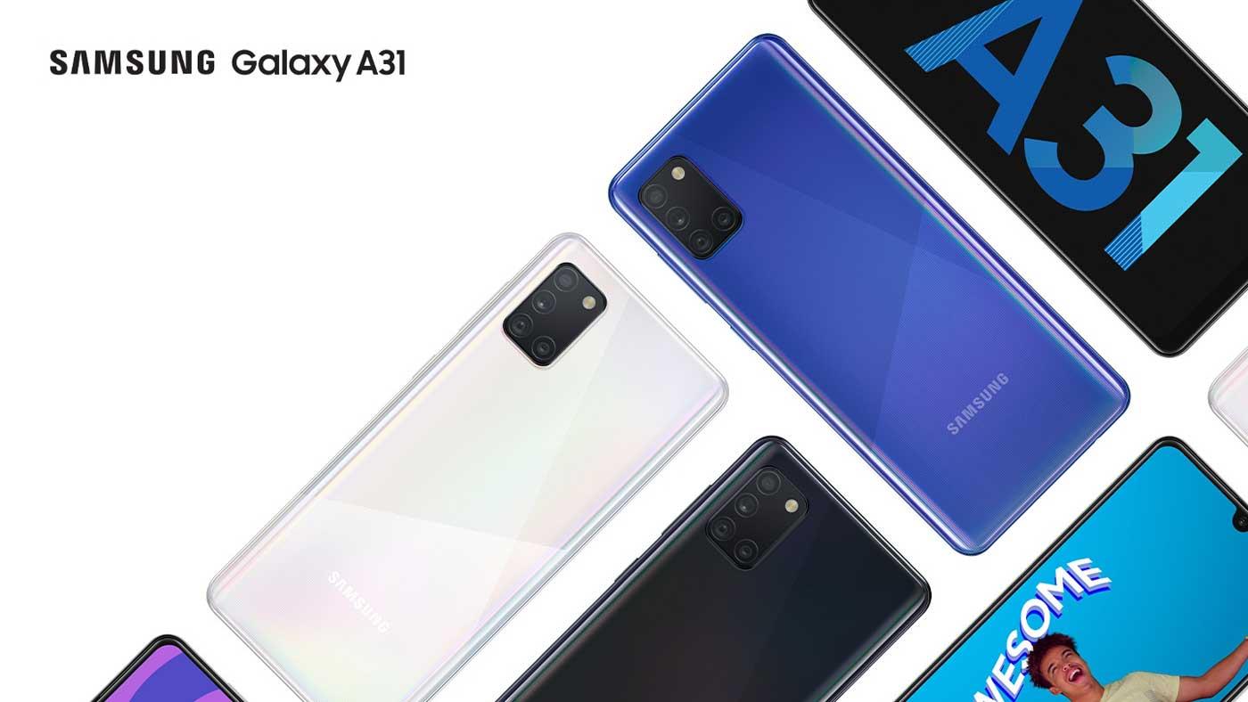 Galaxy A31 RAM 8GB