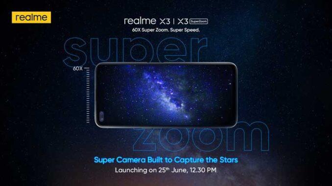 realme X3 Launch
