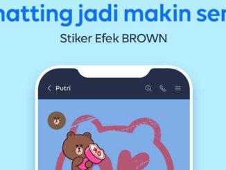 Stiker Efek Line