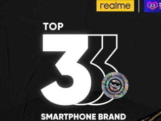 realme Top 3 Smartphone Brand