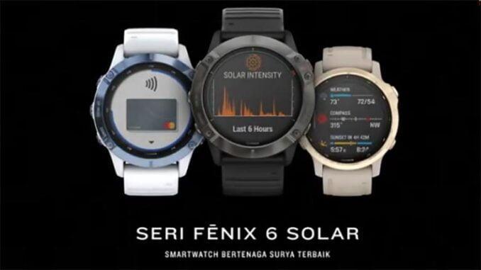 Garmin smartwatch