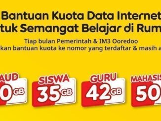 Kuota Data Internet IM3 Ooredoo