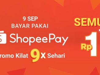 ShopeePay Promo Kilat 9x
