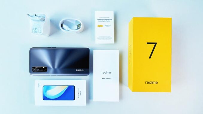 Unboxing realme 7