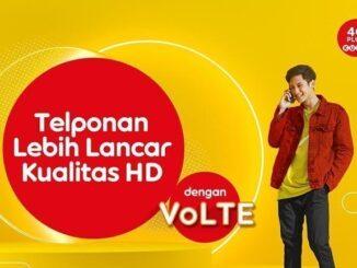 Layanan VoLTE Indosat Ooredoo