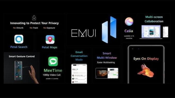 Update EMUI 11 Huawei