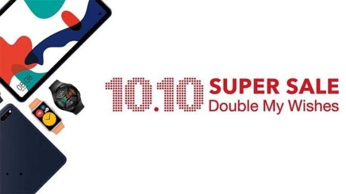 Huawei 10.10 Super Sale