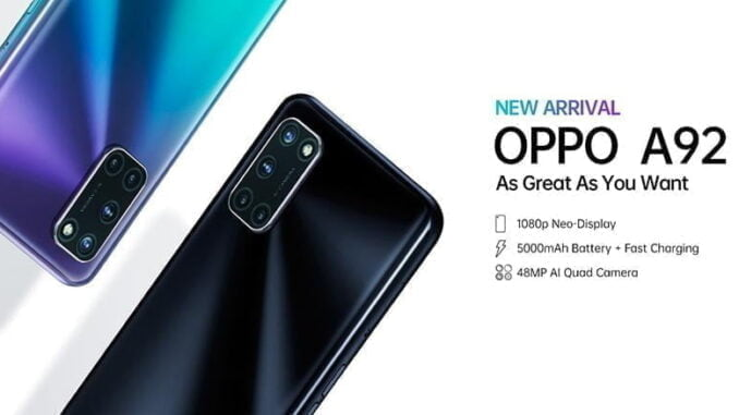 OPPO A92 6GB