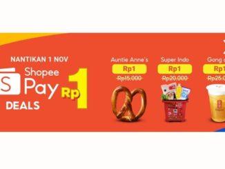 ShopeePay Deals Rp1