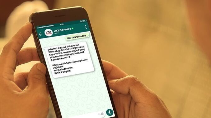 Official WhatsApp IM3 Ooredoo