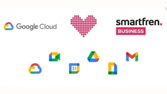 Smartfren Business dan Google Cloud