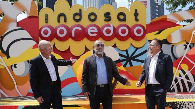 Indosat dan Ericsson