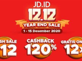 JD.id 12.12 Year End Sale