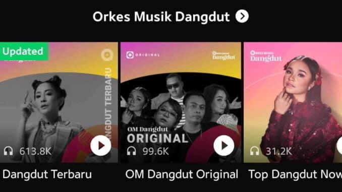 JOOX Orkes Musik Dangdut