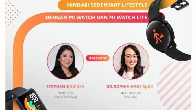 Lawan Sedentary Lifestyle