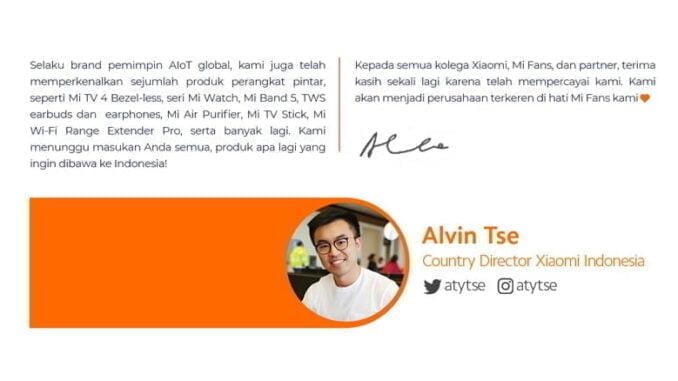 Target Xiaomi Indonesia
