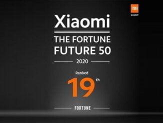 Xiaomi di Fortune Future 50