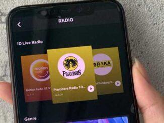 Fitur Radio JOOX