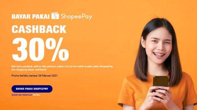 ShopeePay dan Live.On