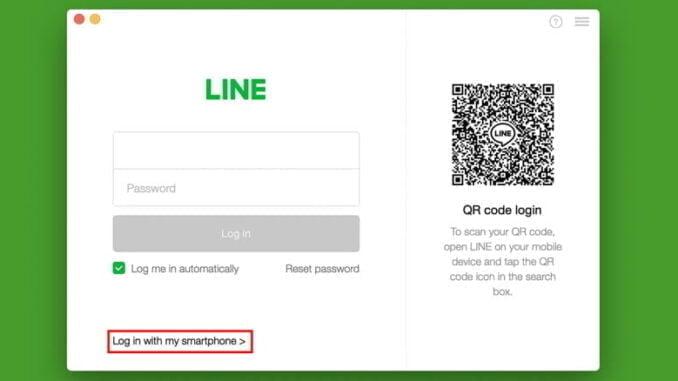 Cara login LINE Desktop