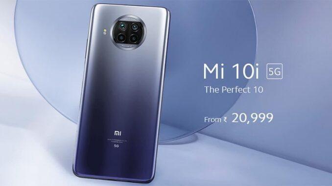 Xiaomi Mi 10i Resmi