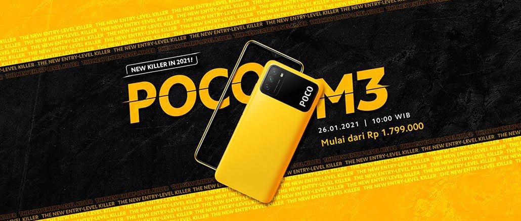 POCO M3 Resmi Hadir di Indonesia