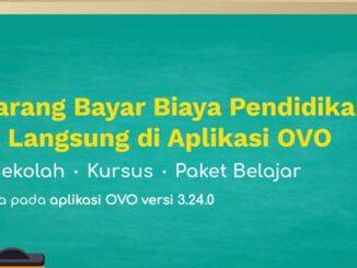 Bayar SPP Menggunakan OVO