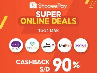 ShopeePay Super Online Deals