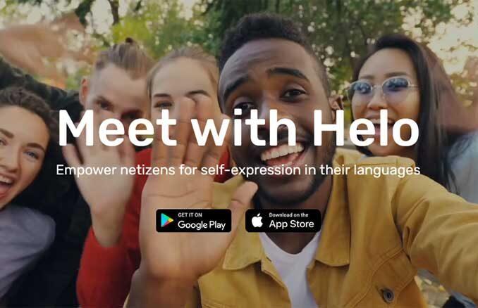 Aplikasi Helo