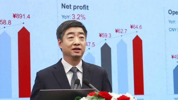 Pendapatan Penjualan Huawei