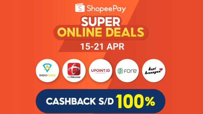 ShopeePay Super Online Deals