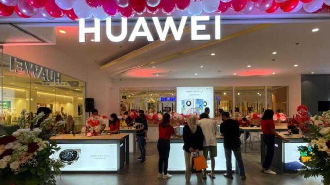 Huawei Experience Store Baru