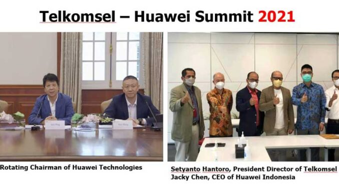 Huawei dan Telkomsel
