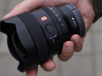 Lensa FE 14mm F1.8