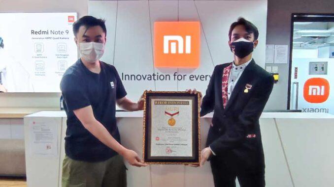 Xiaomi Memecahkan Rekor MURI