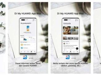 Aplikasi My Huawei