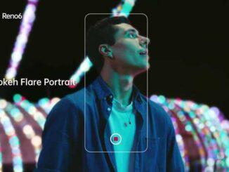 Fitur Bokeh Flare Portrait