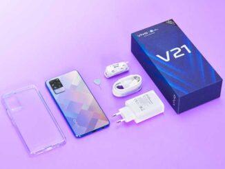 Penjualan Perdana vivo V21