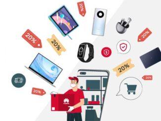 Layanan Belanja Produk Huawei